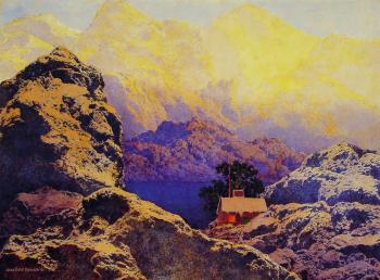 Maxfield Parrish : Getting-Away from it All