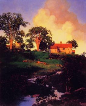 Maxfield Parrish : Hunt Farm