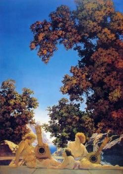Maxfield Parrish : Interlude
