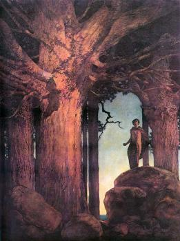 Maxfield Parrish : Jason and the Talking Oak