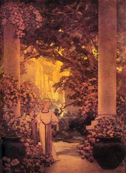 Maxfield Parrish : Land of Make-Believe
