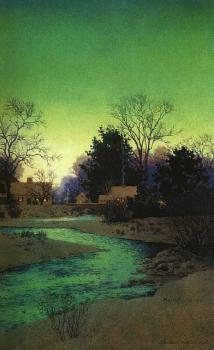 Maxfield Parrish : lullbrook
