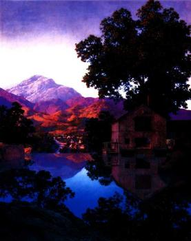 Maxfield Parrish : millpond