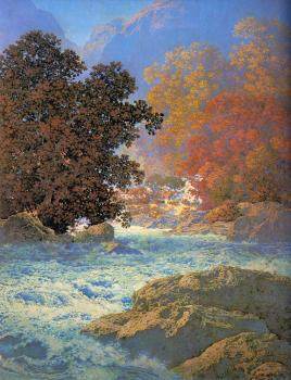 Maxfield Parrish : Misty Morn