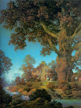 Maxfield Parrish : Morning Light