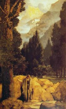 Maxfield Parrish : Poets Dream