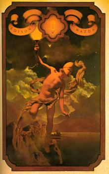 Maxfield Parrish : Prometheus