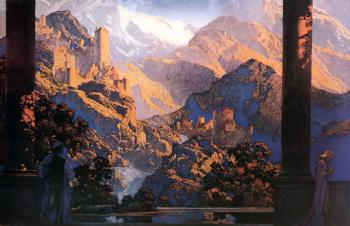 Maxfield Parrish : Romance