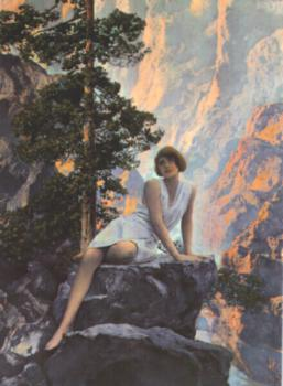 Maxfield Parrish : solitude