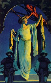 Maxfield Parrish : Spirit of the Night