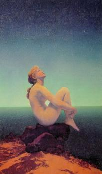 Maxfield Parrish : Stars2