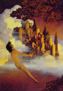 Maxfield Parrish : The Dinkey-Bird