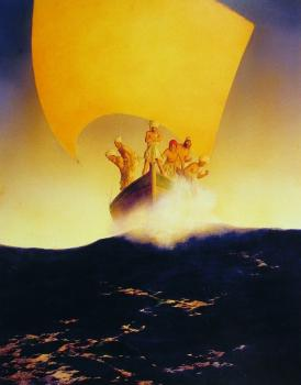 Maxfield Parrish : The History of Codadad and his brothers