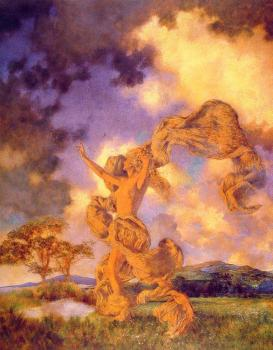 Maxfield Parrish : The Storm