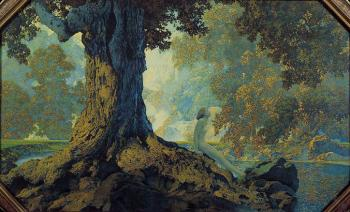 Maxfield Parrish : Dreaming aka October