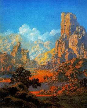 Maxfield Parrish : Arizona III