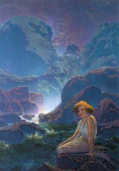 Maxfield Parrish : Moonlight II