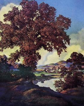 Maxfield Parrish : Tranquility
