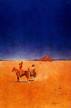 Maxfield Parrish : Desert without water