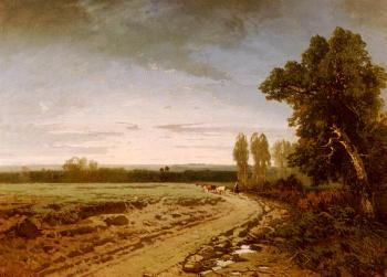 Alberto Pasini : Going To The Pasture, Early Morning