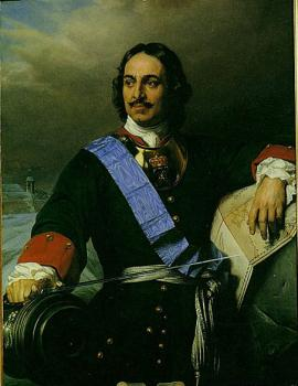 Paul Delaroche : Peter the Great of Russia