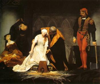 Paul Delaroche : The Execution of Lady Jane Grey