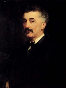 Paul-Jacques-Aime Baudry : Portrait Of Chikhachev