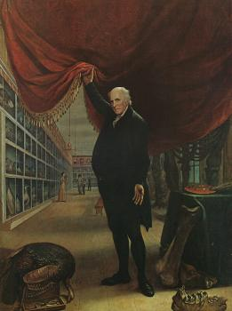 The Artist in his Museum, 1822, Pennsylvania Academy of the Fine Arts
