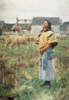 Charles Sprague Pearce : Sainte Genevieve