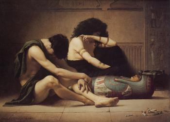 Charles Sprague Pearce : The Death of the First-Born