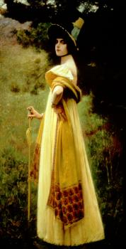 Charles Sprague Pearce : The Shawl