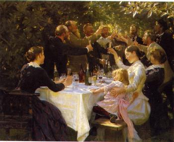 Peder Severin Kroyer : Artist Party