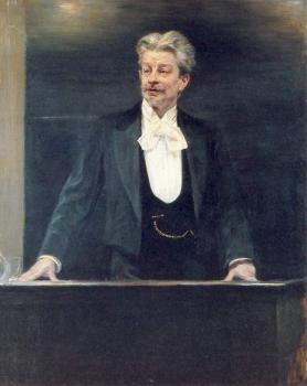 Peder Severin Kroyer : Georg Brandes