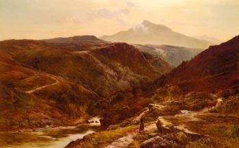 Sidney Richard Percy : Moel Siabab, North Wales