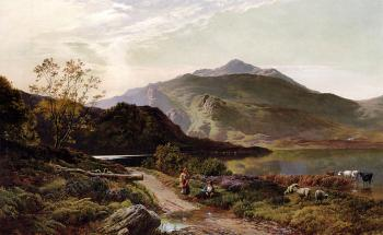Sidney Richard Percy : A Rest On The Roadside