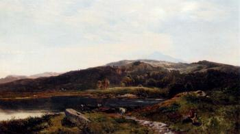 Sidney Richard Percy : Llyn y Ddinas North Wales