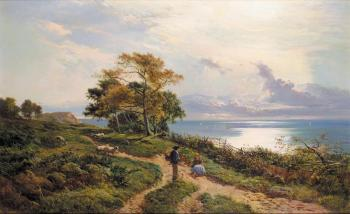 Sidney Richard Percy : Overlooking the Bay