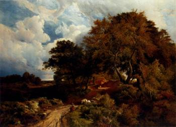 Sidney Richard Percy : The Road Across The Common