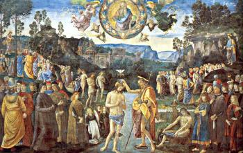 Pietro Perugino : Scenes from the Life of Christ