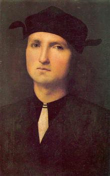 Pietro Perugino : Portrait of a Young Man
