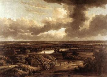 Philips Koninck : Dutch Landscape Viewed From The Dunes