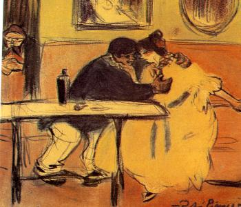 Pablo Picasso : the couch