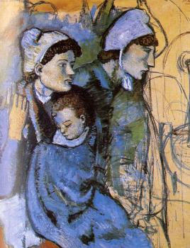 Pablo Picasso : women at the well