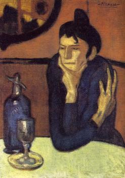 Pablo Picasso : the aperitif
