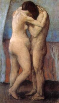Pablo Picasso : the embrace