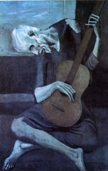 Pablo Picasso : the old guitarist