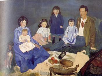 Pablo Picasso : the soler family