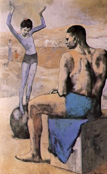 Pablo Picasso : Acrobat on a Ball
