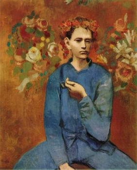 Pablo Picasso : boy with a pipe
