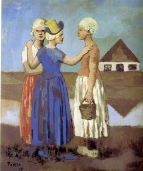 Pablo Picasso : three dutch girls